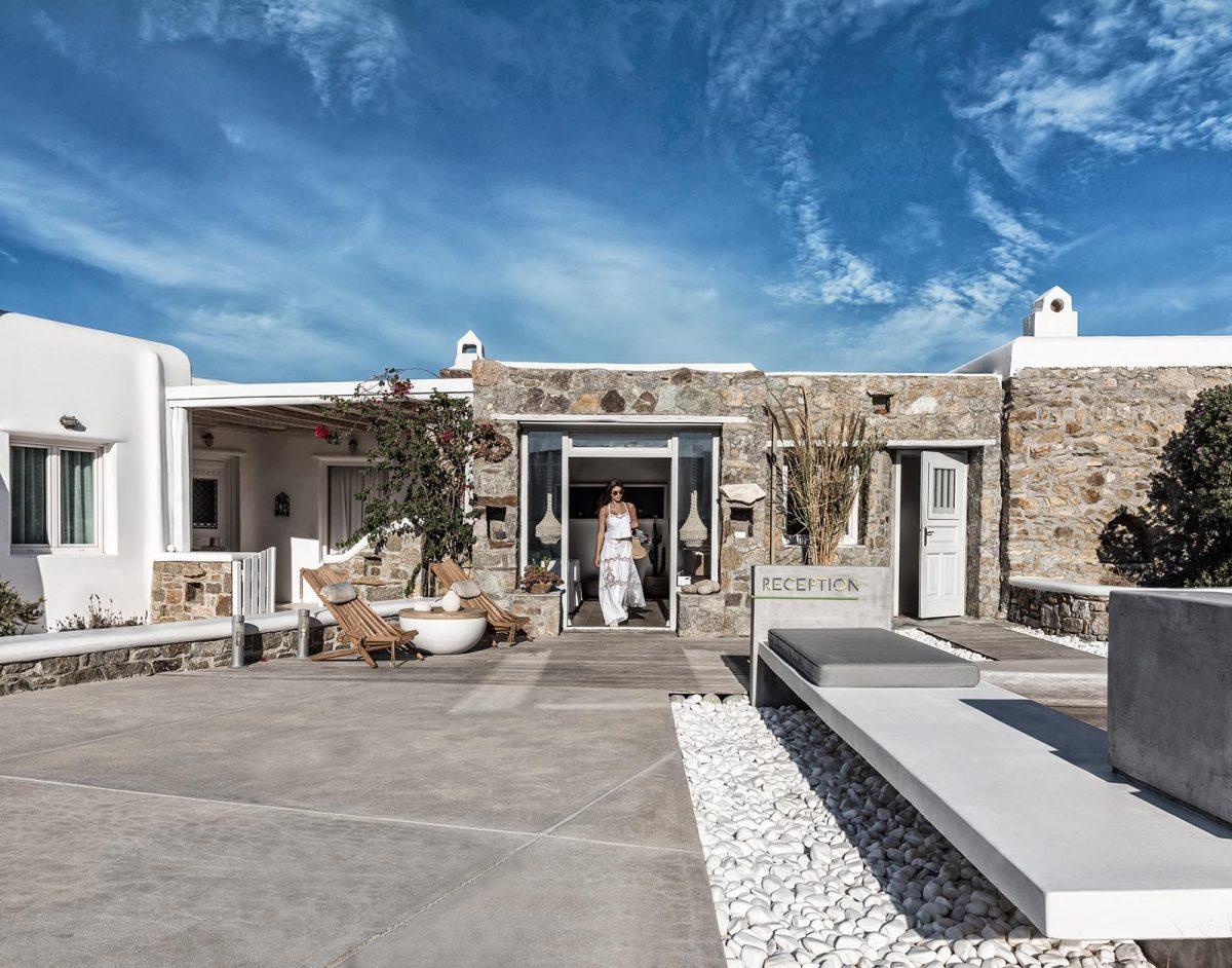 mykonos hotel restaurant | A Hotel Mykonos, Greece
